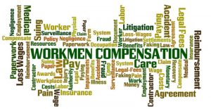 workers compensation word cloud